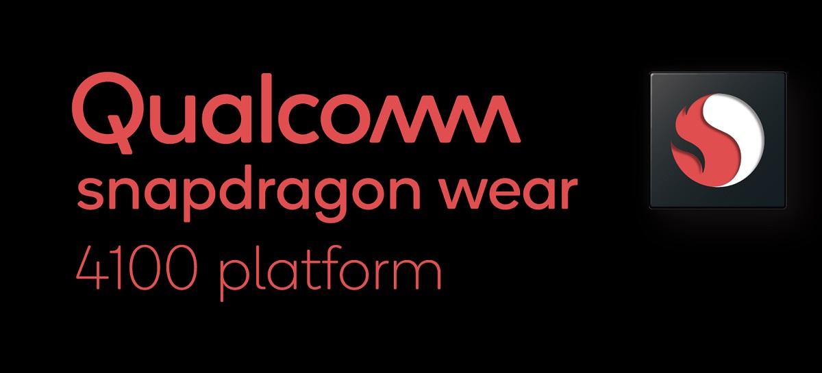 Qualcomm lança plataformas Snapdragon Wear 4100 para smartwatches