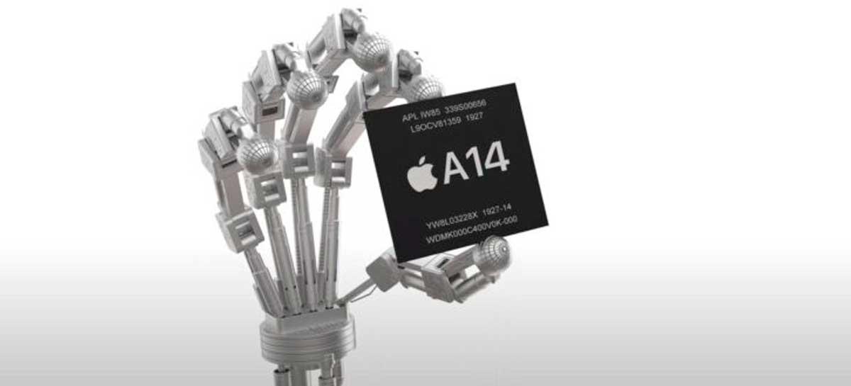 Vazamento mostra que desempenho do A14 Bionic é inferior ao Snapdragon 865