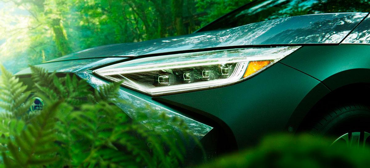 Solterra: conheça o novo carro elétrico criado pela Subaru em parceria com a Toyota