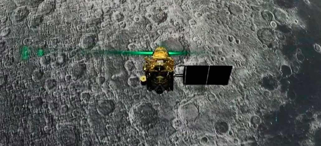 NASA vai revelar imagens da sonda indiana que tentou pousar na Lua