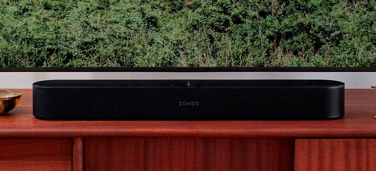 Sonos revela soundbar Beam Gen 2 com Dolby Atmos, HDMI eARC, NFC, AirPlay 2 e mais