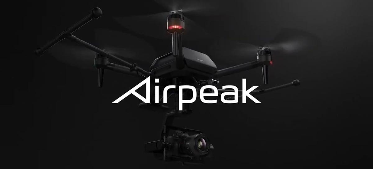 Drone Sony Airpeak é anunciado com suporte para câmeras full frame