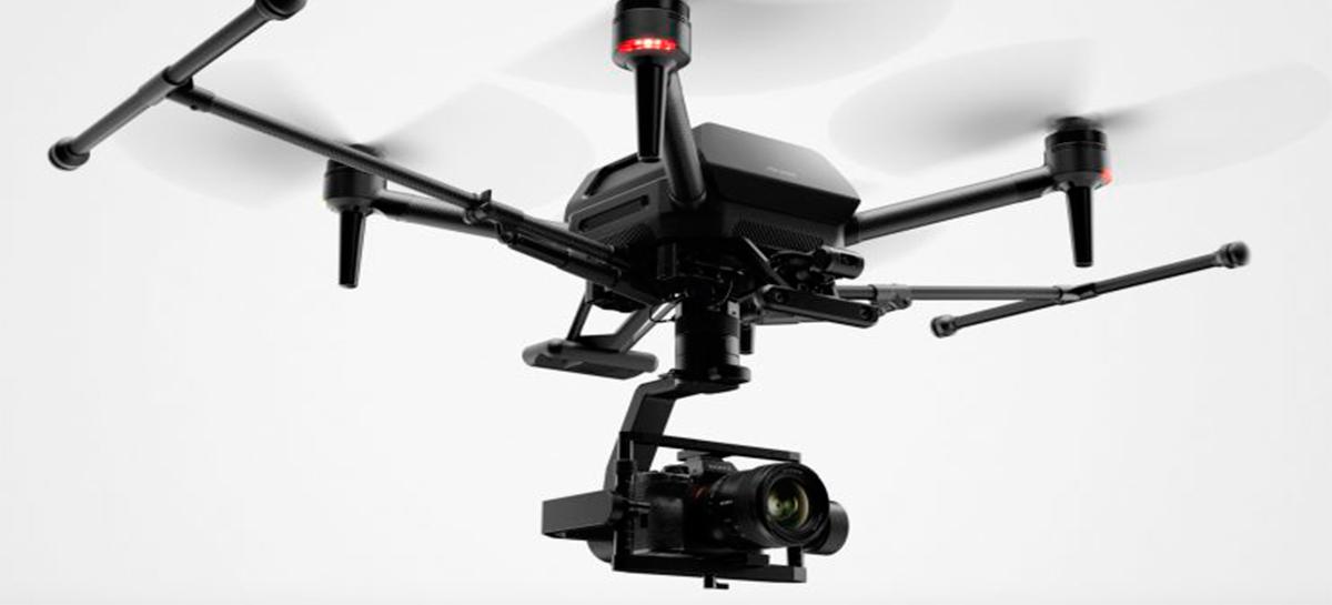 Veja belas imagens capturadas pelo drone Sony Airpeak com a câmera Sony a7S III