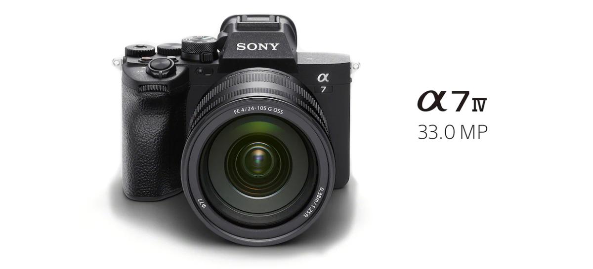 Sony revela câmera Alpha 7 IV com resolução de 33 megapixels