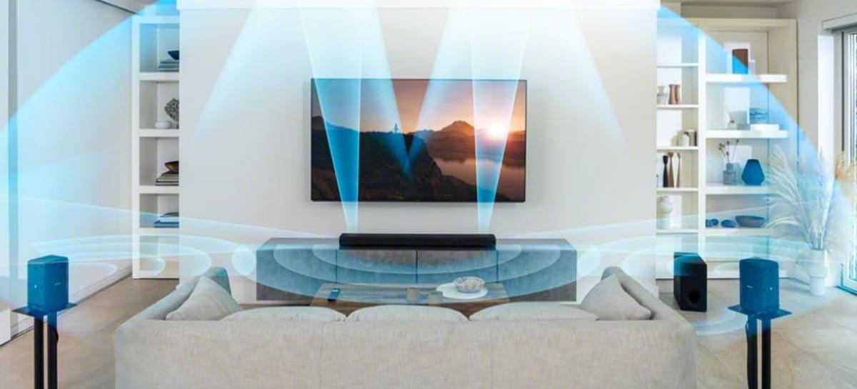 Sony anuncia Soundbar HT-A5000, versão mais acessível com HDM1 2.1 e Dolby Atmos