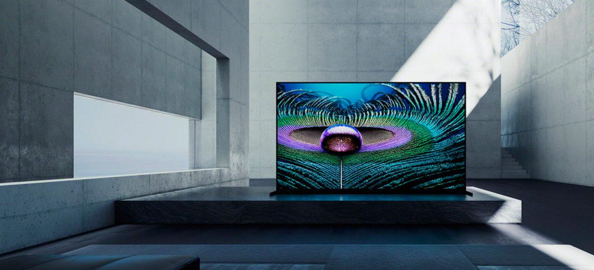 """Sony anuncia novas TVs Bravia XR, as primeiras com seu """"processador cognitivo"""""""
