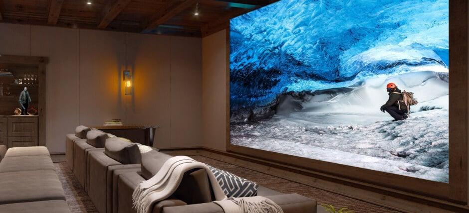 Sony anuncia que consumidores finais poderão ter suas telas de cinema 16K em casa