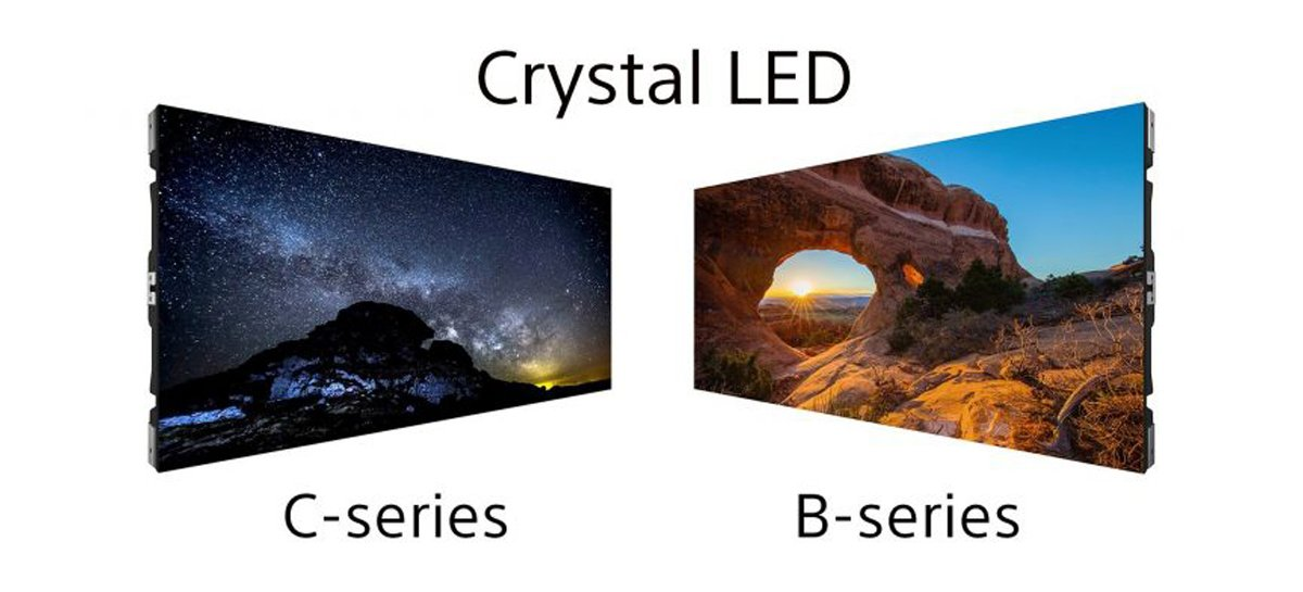 Sony anuncia novos monitores modulares Crystal LED