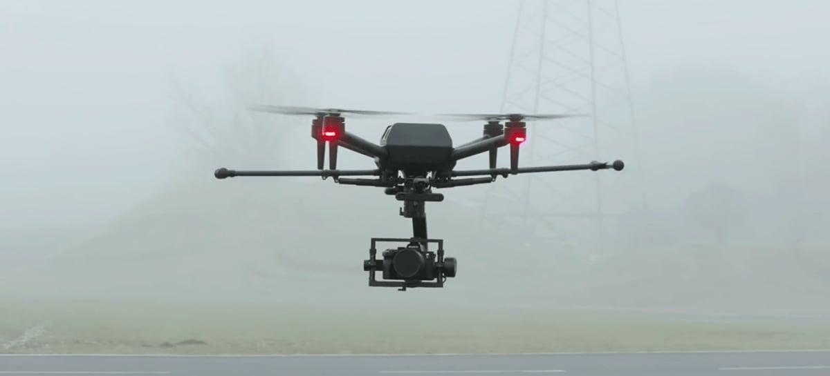 Sony registra patente de drones que silenciam locais barulhentos