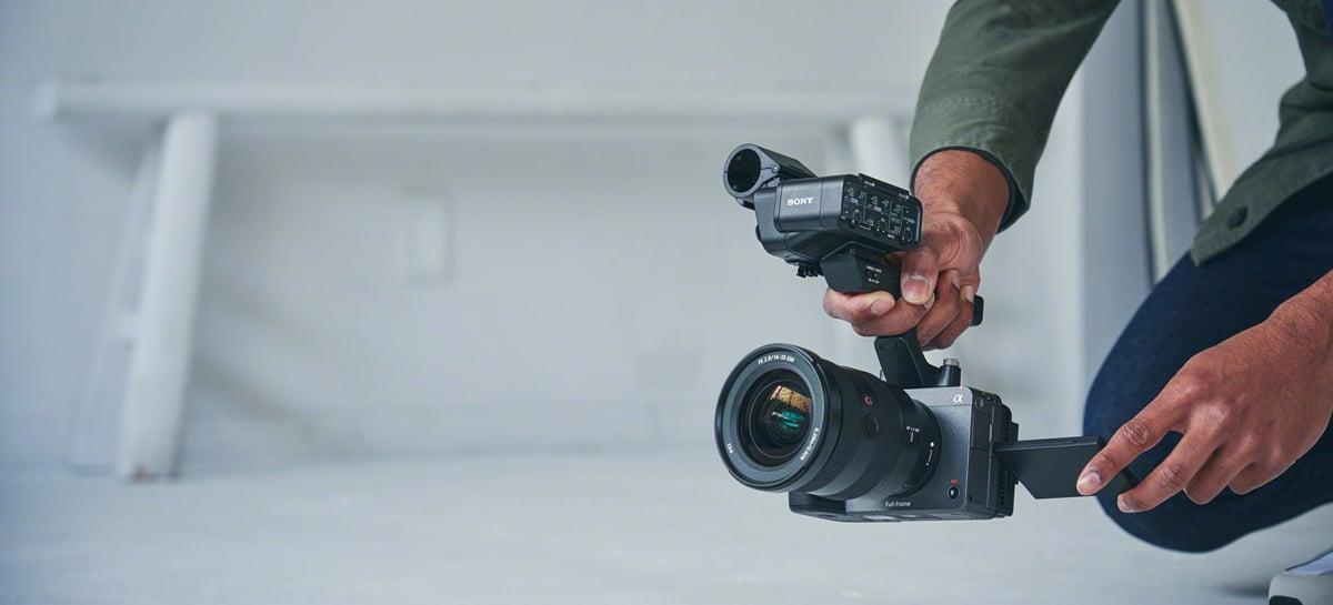 Câmera Sony FX3 chega em março por US$ 3.900