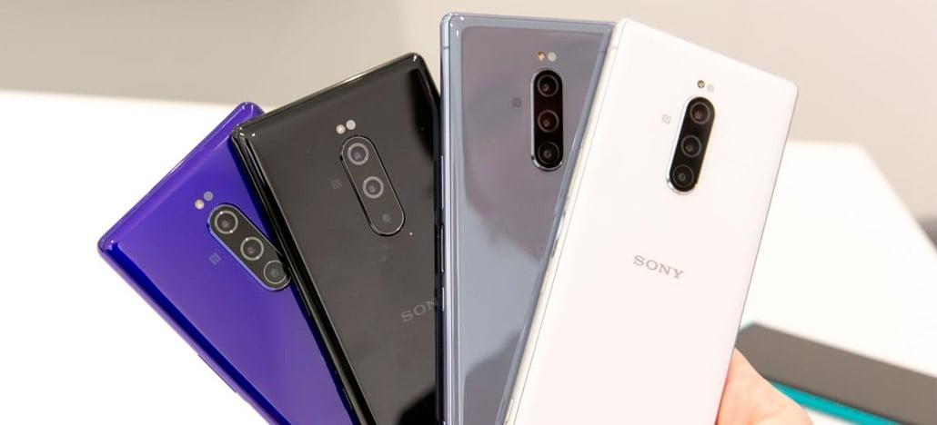 Câmera traseira tripla do Sony Xperia 1 é equipada com duas lentes Zeiss e uma Samsung