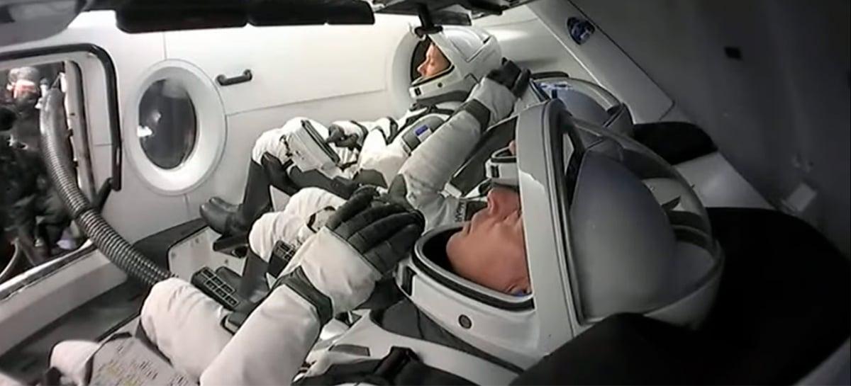 SpaceX coloca em órbita 4 astronautas a caminho da Estação Espacial Internacional