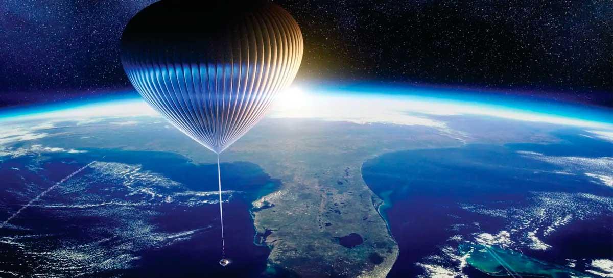 Space Perspective vai permitir passeios ao redor da Terra em breve
