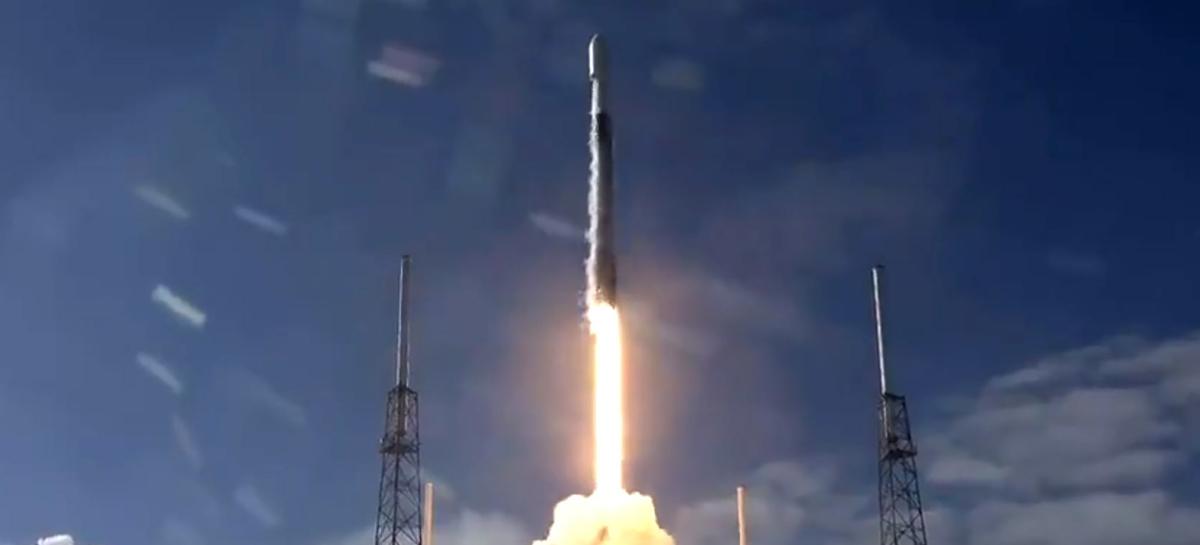 SpaceX lança quinto lote de satélites Starlink