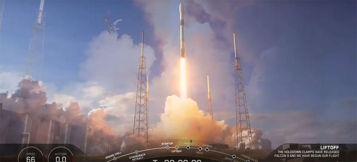 SpaceX chega à marca de 240 satélites Starlink de internet colocados em órbita