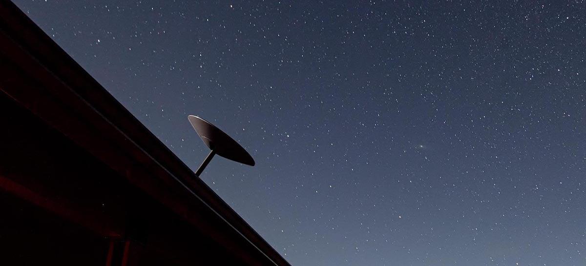 SpaceX já entregou mais de 100 mil terminais de internet via satélite Starlink