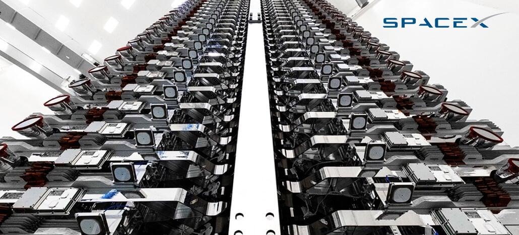 SpaceX pede para ter acesso a um espectro de mais de 30.000 satélites Starlink