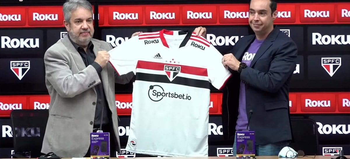 Roku é a nova patrocinadora do São Paulo Futebol Clube