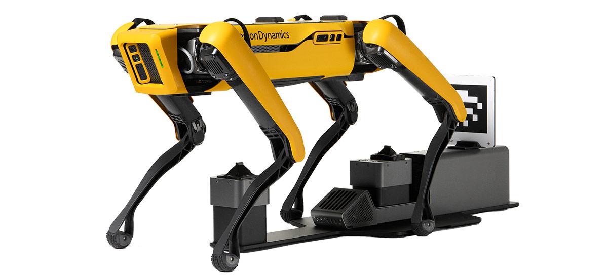 Robô Spot da Boston Dynamics agora tem versão que carrega própria bateria sozinho