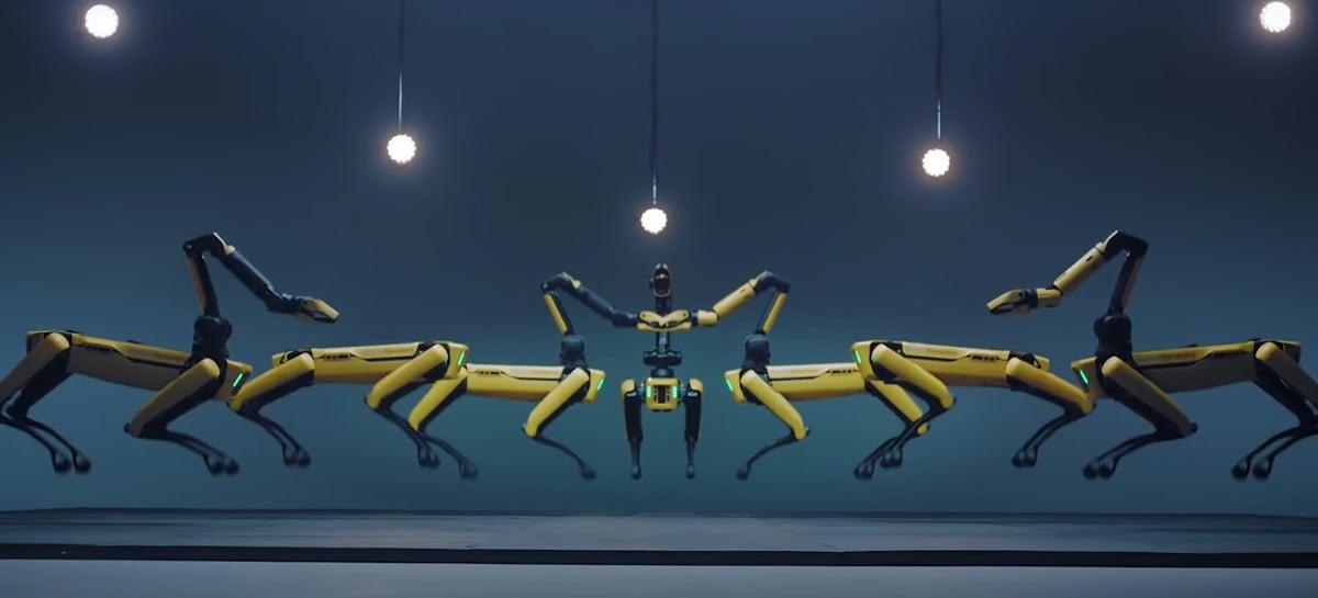 Boston Dynamics lança novo vídeo com vários robôs Spots dançando