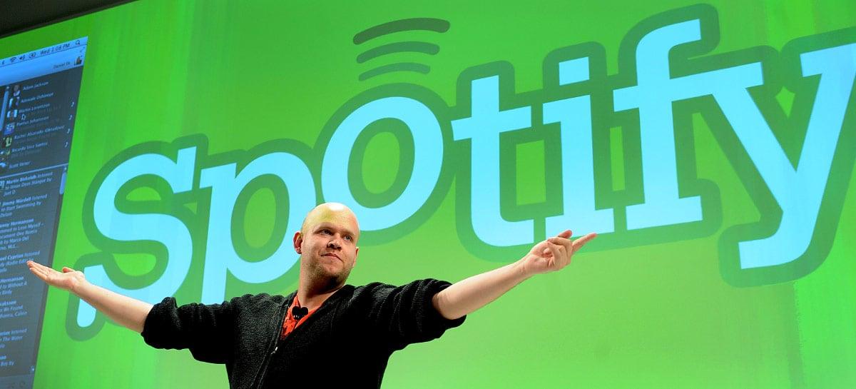 Spotify tem crescimento