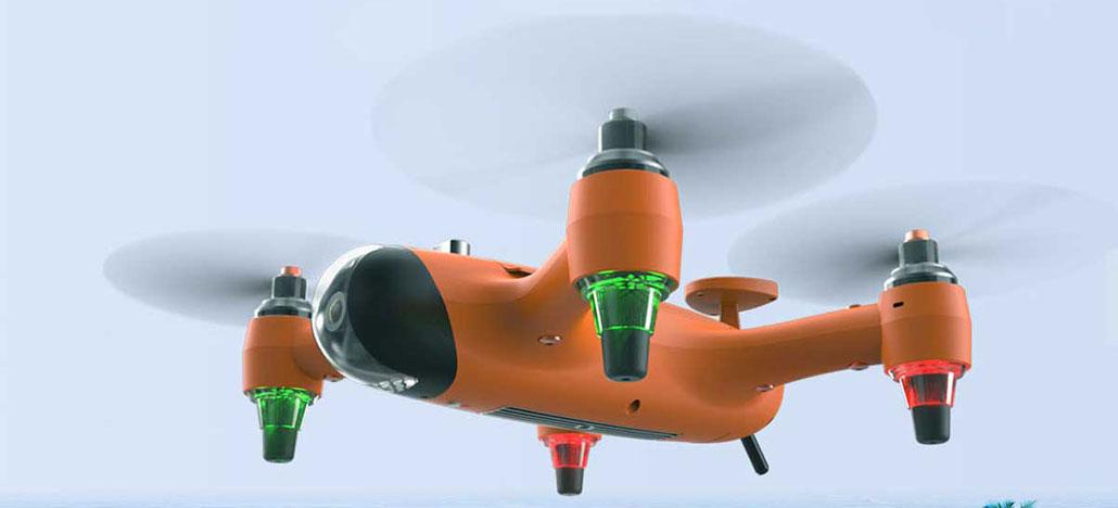SwellPro Spry é o drone que consegue gravar em 4K até dentro d'água