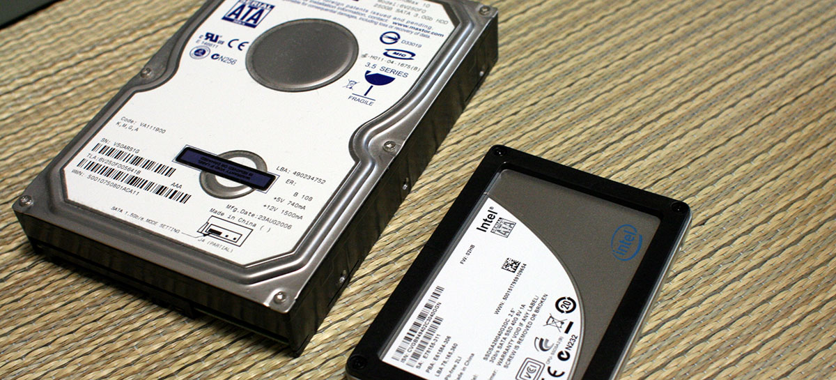 SSDs vendem 50% mais unidades do que HDs no primeiro trimestre de 2021