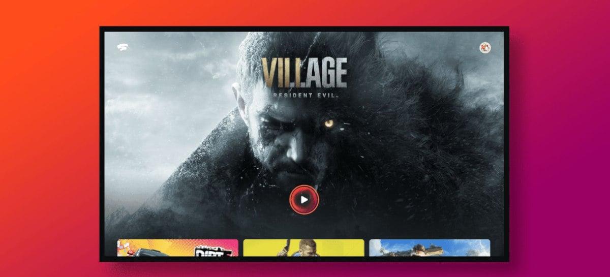 Agora o Google Stadia está disponível em TVs com Android