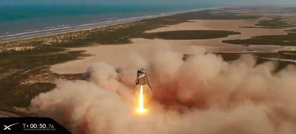 SpaceX faz o primeiro lançamento do foguete Starhopper de forma bem sucedida
