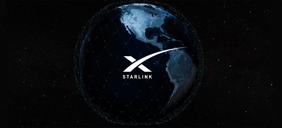 Satélites da Starlink entregarão cobertura ao mundo todo até setembro