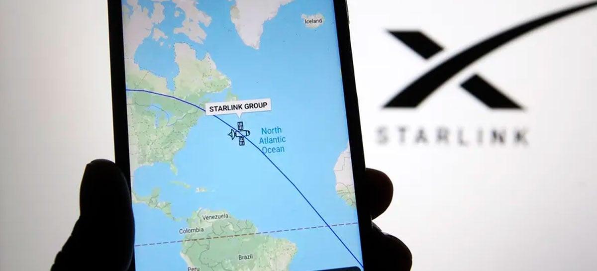 Internet da SpaceX Starlink pode ficar disponível em aviões em breve