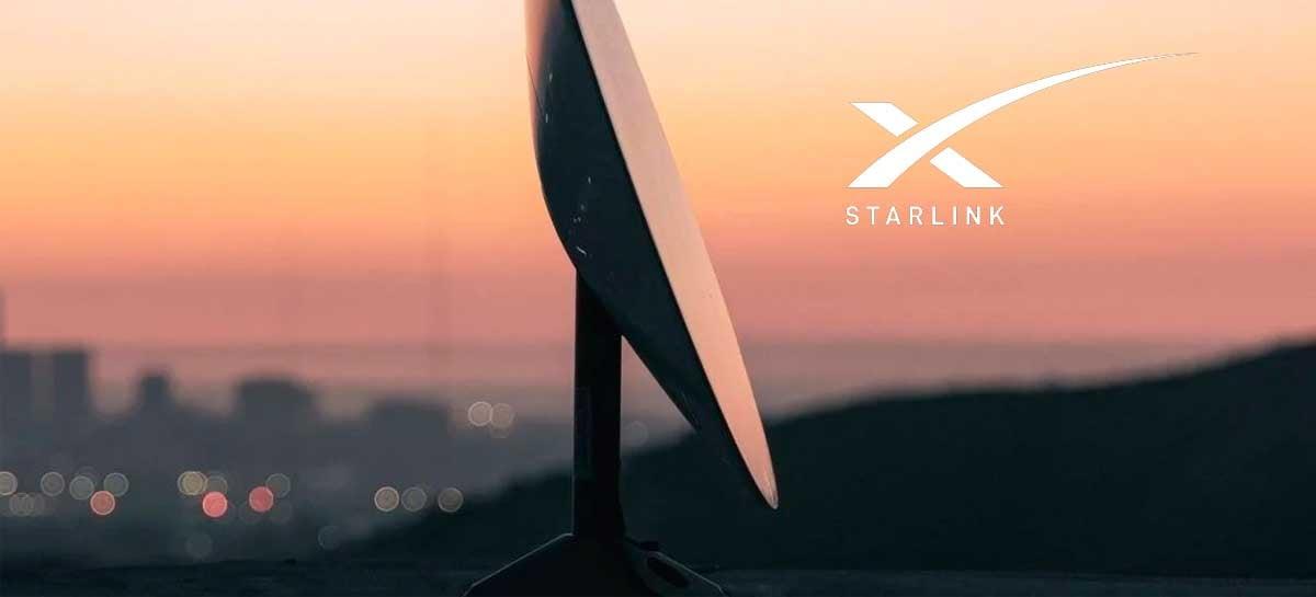 Testes da internet da SpaceX revelam até 100 Mbps e baixa latência