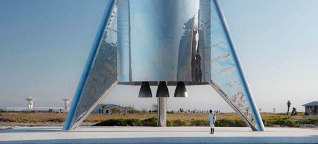 Elon Musk revela versão final do foguete Starship da SpaceX