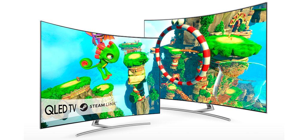 Valve e Samsung firmam parceria para criar app da Steam Link para smart TVs
