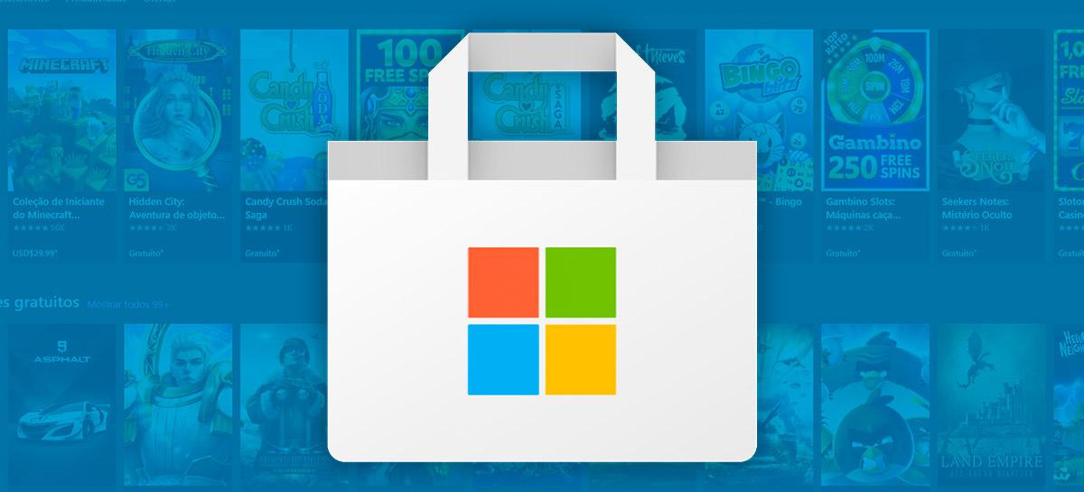 Windows 10: Microsoft Store pode receber novo design e mais apps