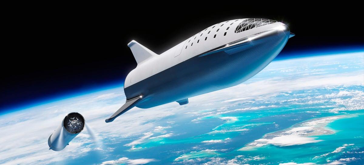"""SpaceX deve testar booster Super Heavy, que """"nos levará até Marte"""", em alguns meses"""