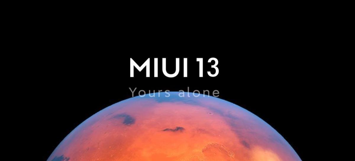 Suposto vazamento aponta os novos recursos da MIUI 13 da Xiaomi