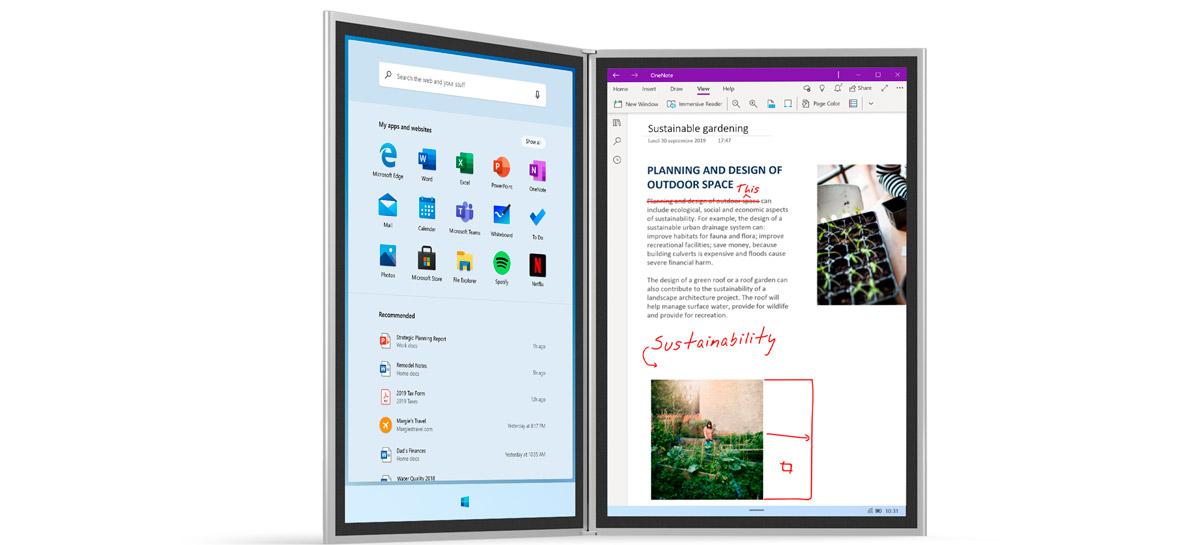 Windows 10X pode ser lançado pela Microsoft só em 2021