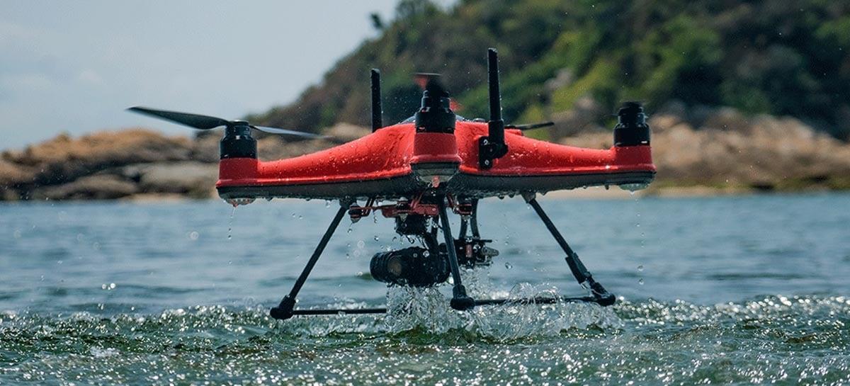 SwellPro anuncia seu novo drone SplashDrone 4 que é à prova d'água