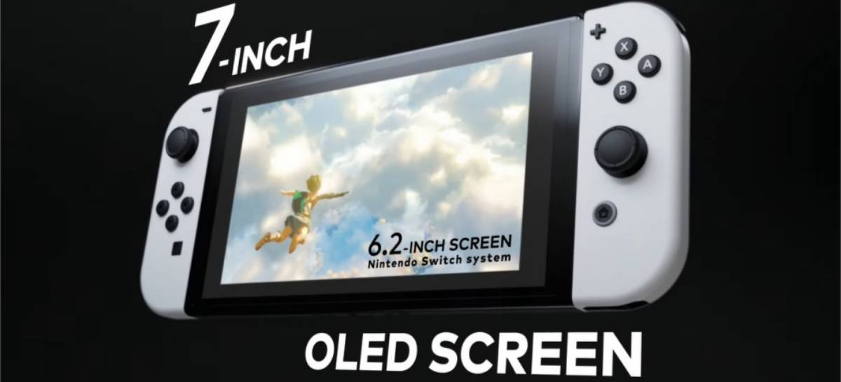 Nintendo anuncia novo Nintendo Switch com tela OLED