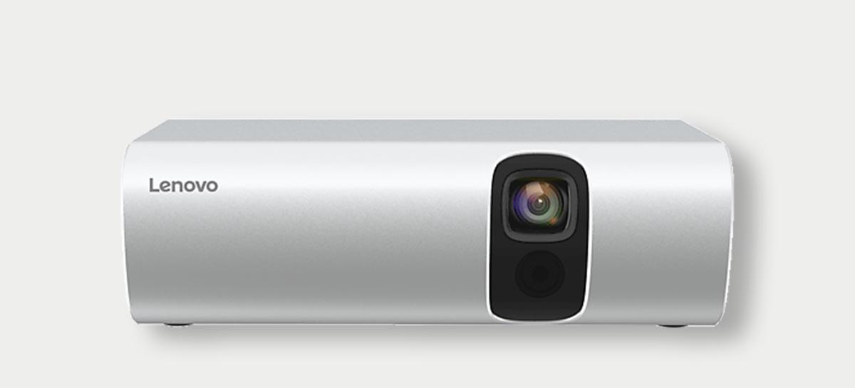 T200: Lenovo lança micro projetor portátil por menos de R$ 1,3 mil