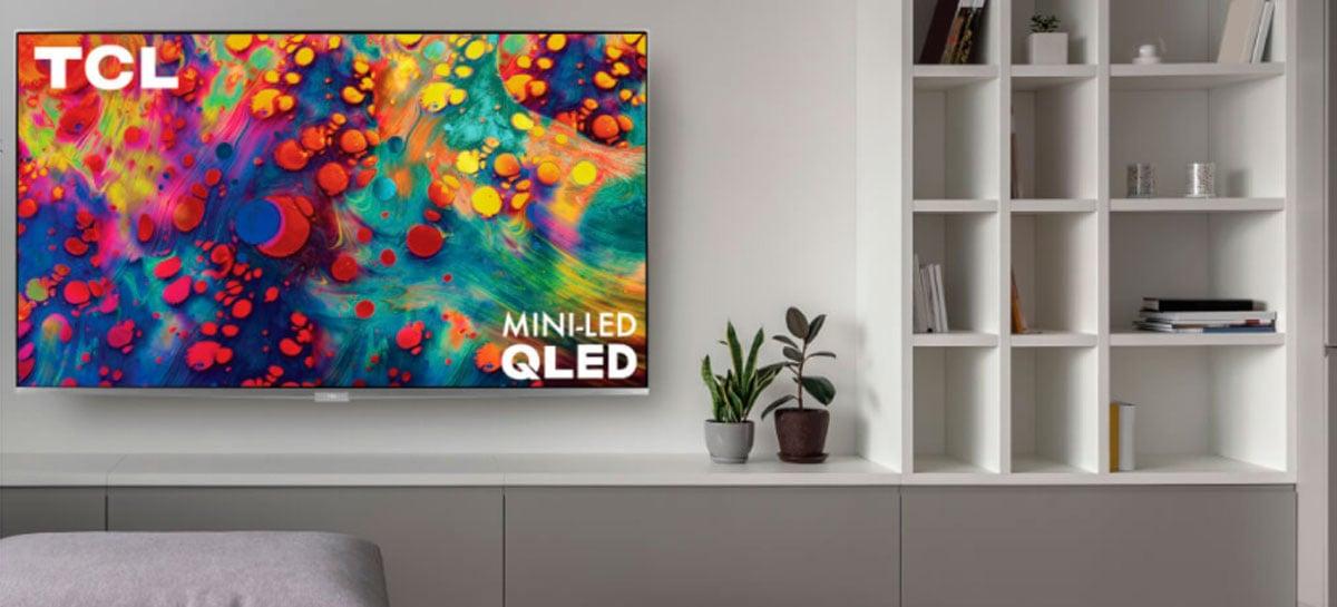TCL anuncia Smart TVs  XL Collection com tecnologia Mini LED 8K