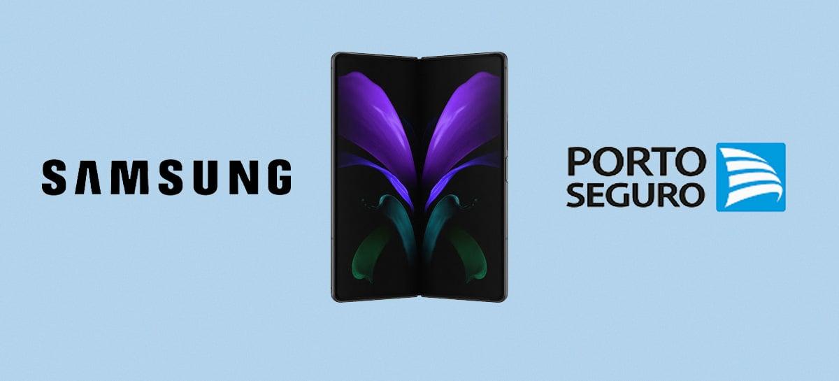 Samsung e Porto Seguro ampliam lista de celulares no plano Tech Fácil