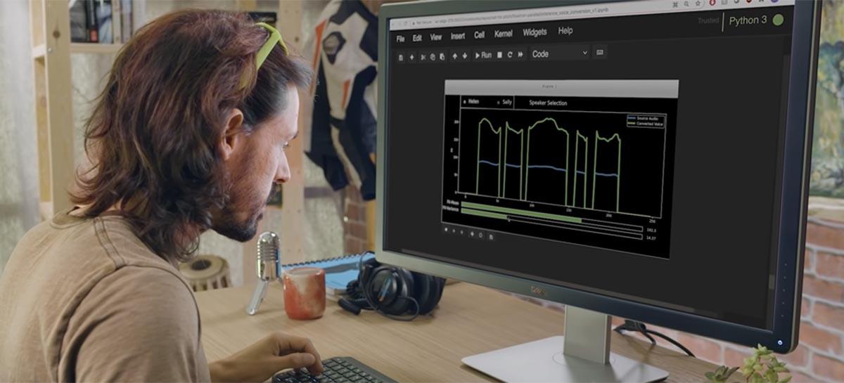Tecnologia da Nvidia promete fazer com que voz artificial pareça mais real