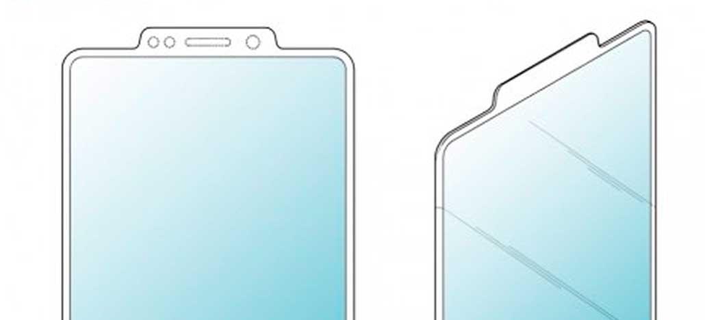 Samsung registra patente de tela com notch reverso