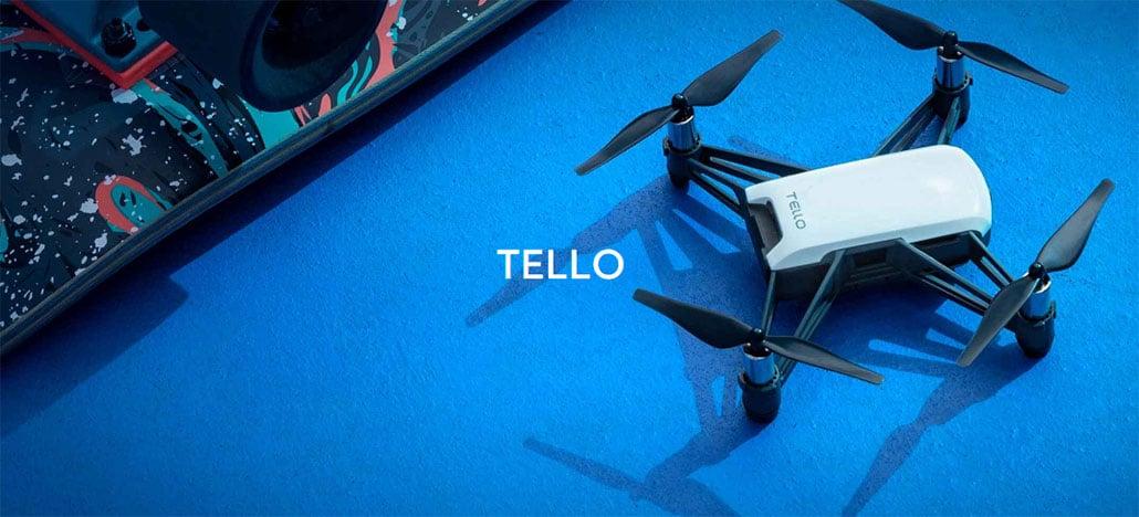 Drone compacto Tello já está disponível para compra no site da DJI