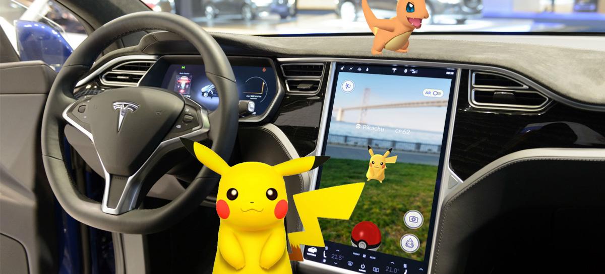 Elon Musk quer transformar carros Tesla em jogos de Realidade Aumentada de verdade