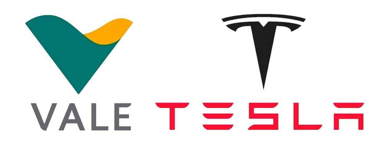 Vale firma parceria com Tesla para produção de baterias para rede elétrica no Brasil