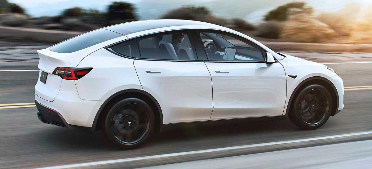 SUV Elétrico Tesla Model Y chega ao Brasil em abril por R$450 mil