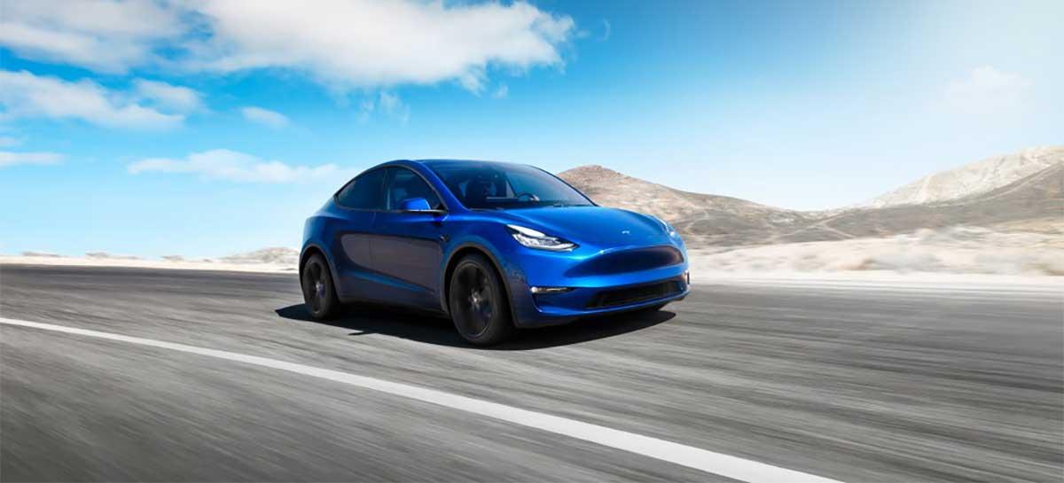 """Tesla lança """"Boost de aceleração"""" de US$ 2 mil para o SUV Model Y"""